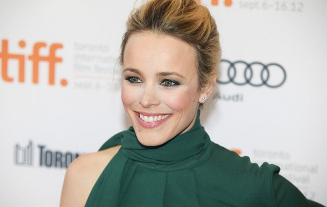 TIFF RED CARPET: Rachel McAdams and Olga Kurylenko shine for To The Wonder (director Terrence Malick does not)