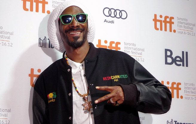TIFF RED CARPET: Snoop Lion with Eli Roth and more at the gala presentation of Reincarnated