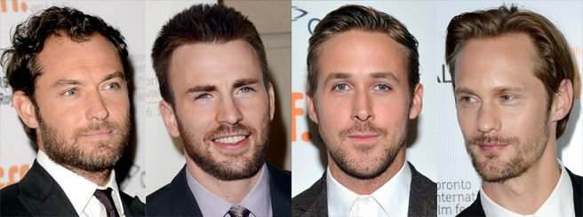 TIFF FASHION POLL: Which actor is sporting the sexiest scruff?