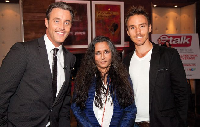 TIFF PARTY: Deepa Mehta, Rob Stewart and Ben Mulroney host the annual Canadian Film Centre shindig at the Spoke Club