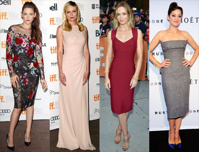 RED CARPET POLL: Which actress dressed the best on the first night of TIFF 2012?