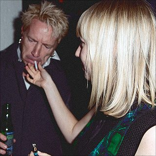 Johnny Rotten at The Hoxton. (Image: Geoffrey Knott/Bad Day Magazine)