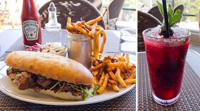 Weekly Lunch Pick: a rib-sticking sandwich on a breezy patio at Museum Tavern