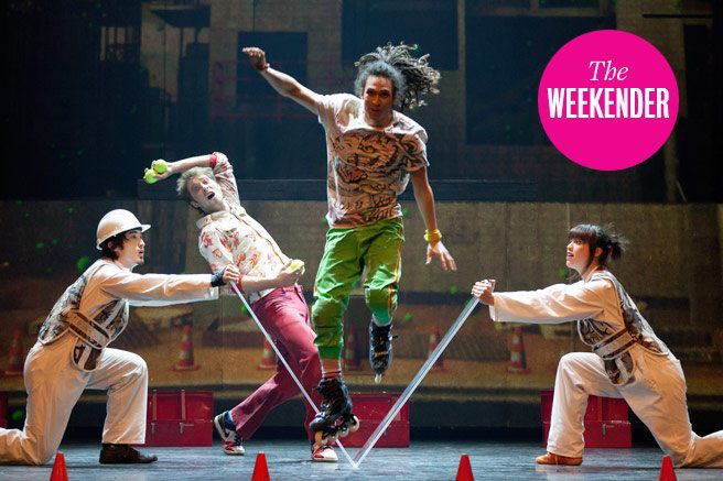 The Weekender: Crystal Castles, The War of the Worlds and six other events on our to-do list
