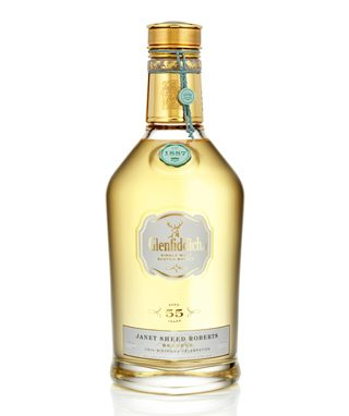 The only bottle of Glenfiddich Janet Sheed Roberts Reserve scotch in Canada is sold for $52,000