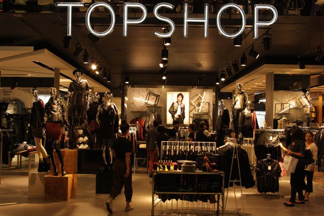 Topshop opens its massive shop-in-shop in The Bay flagship on Queen