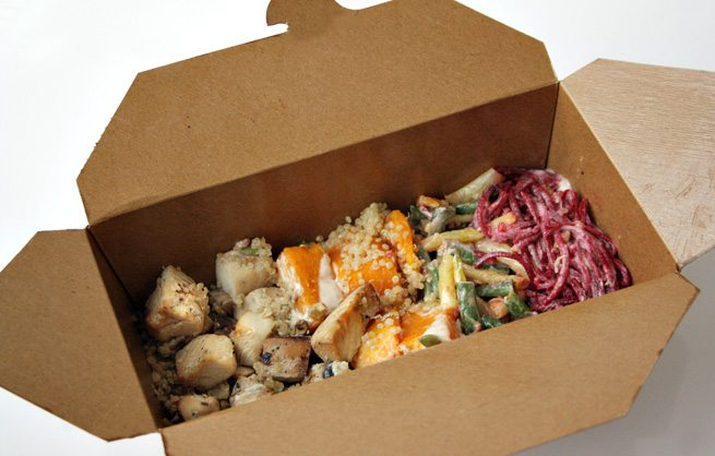 Weekly Lunch Pick: fun, healthy takeout in the Financial District from I.Q. Food Co.