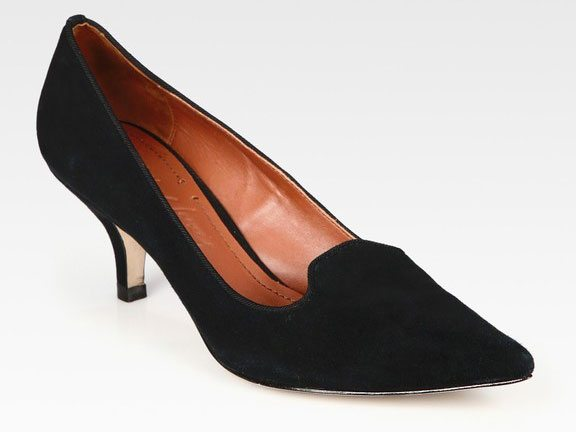 The Find: the smoking slipper, upgraded into a sexy black pump