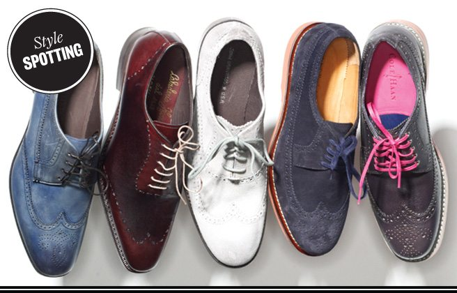 The Look: modern brogues are smart, sturdy and not at all stodgy