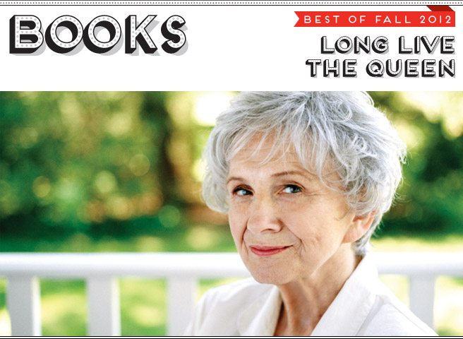 Best of Fall 2012: After years of playing the reclusive literary genius, Alice Munro is back with a new collection of stories