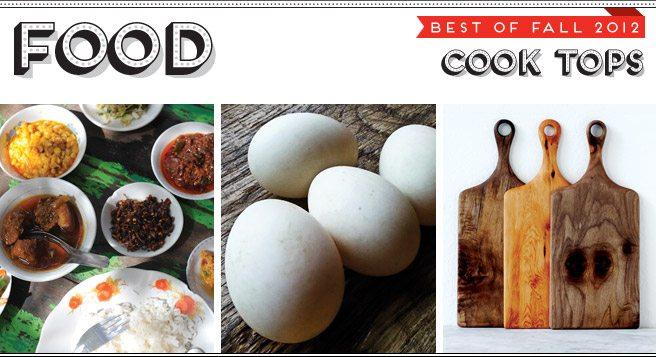 Best of Fall 2012: three of the trendiest kitchen essentials