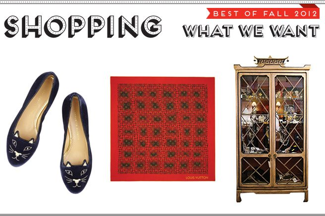 Best of Fall 2012: we ask trendsetters to pick their fall must-haves