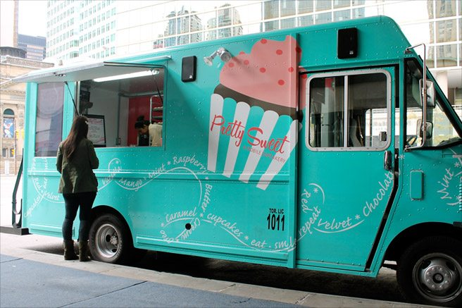 Introducing: Pretty Sweet, the GTA's newest cupcake truck