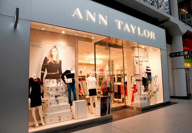 Introducing: Ann Taylor at the Eaton Centre, the first international store from the women's office-wear brand