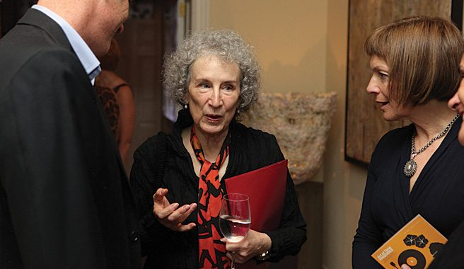 Party Pages: Artists, philanthropists and Margaret Atwood at the Art of Time Ensemble Salon