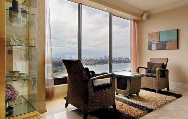 Condomonium: $1.3 million for a three-bedroom suite in Chris Bosh's old building