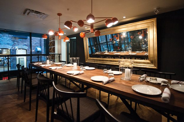Private Dining Rooms Toronto Introducing Patria The New King West Spot For Traditional .