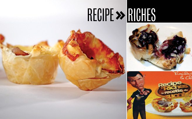 Recipe to Riches reviewed, episode 1: Mini Cheesy Bees' Nest
