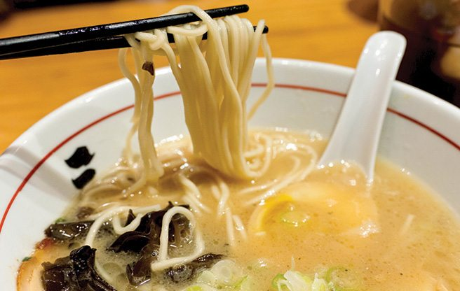 Weekly Lunch Pick: a rich and warming bowl of ramen at downtown's Sansotei