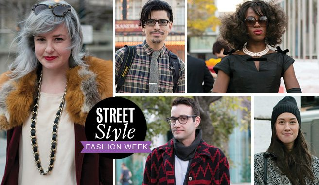 Street Style: 18 looks at the runway fans at Toronto Fashion Week