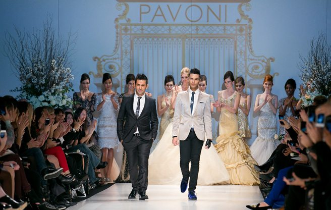 Toronto Fashion Week: Pavoni gives its usual display of glittering ball gowns for spring/summer 2013