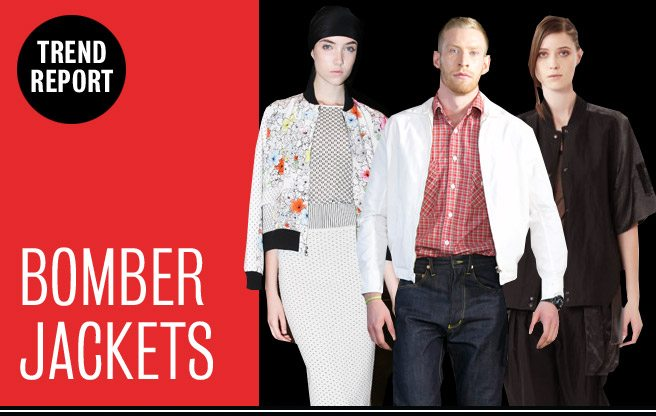 Runway Trend Report: bomber jackets at Rogue Fashion Week