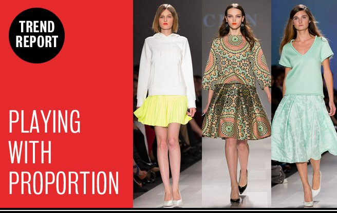 Runway Trend Report: playing with proportion at Toronto Fashion Week
