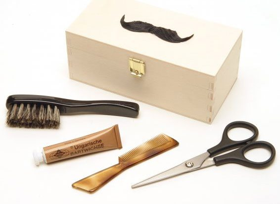 The Find: a classy moustache grooming kit to ensure a dapper Movember