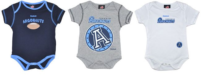 The Find: adorable football gear for baby Argos fans