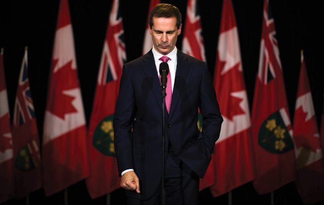 The Moment: Dalton McGuinty's emergency exit