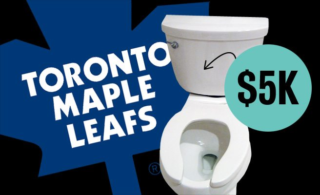 QUOTED: a diehard Toronto Maple Leafs fan on why he splurged on a $5,300 toilet
