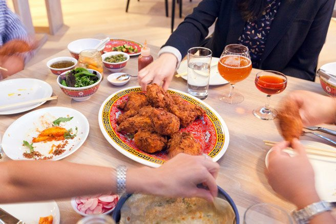 Review: Momofuku Daishō, the new place for family-style fried chicken and bo ssäm