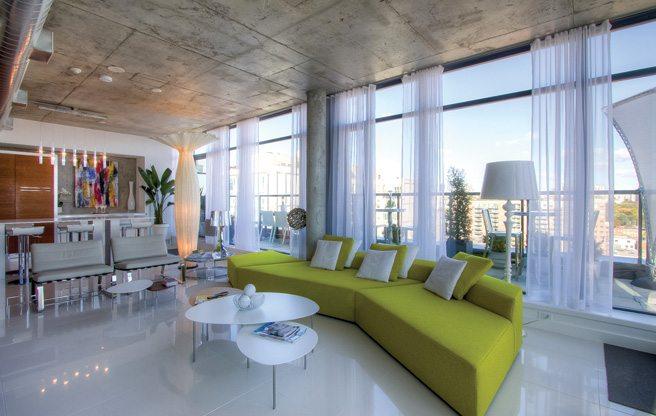 Condomonium: $1.6 million for a penthouse with a hot tub on the wraparound terrace