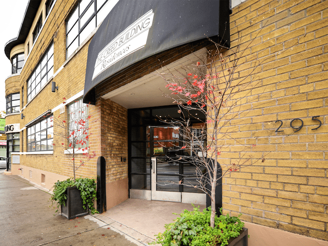 Condomonium: $1.1 million for a two-level loft in the former Creeds warehouse in the Annex
