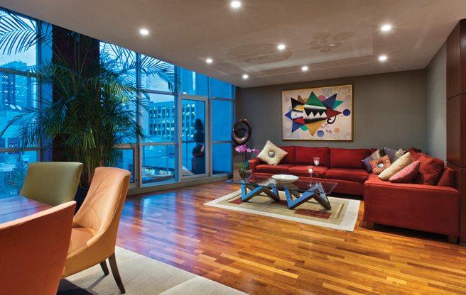 Condomonium: $1.6 million for a three-level penthouse in the Soho Metropolitan