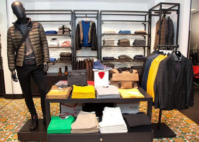 Introducing: Strellson, a Yorkville menswear and suiting store from the Swiss mega-retailer