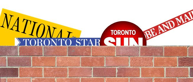 Digital Fortresses: A cheat sheet to Toronto papers' online paywalls