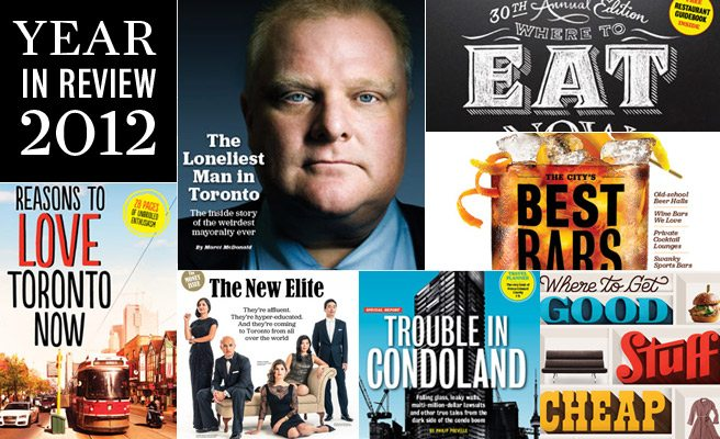 Year in Review: Read all of Toronto Life's cover stories from the past 12 months
