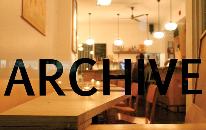 Introducing: Archive, a casual new wine bar on Dundas West