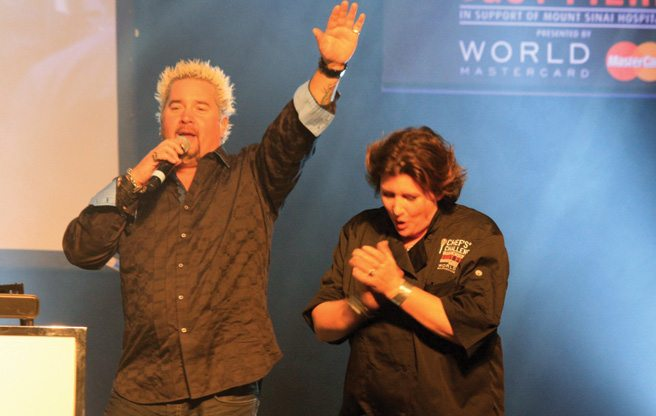 GALLERY: Guy Fieri presides over a roster of celeb chefs (and their fans) at this year's Chef's Challenge