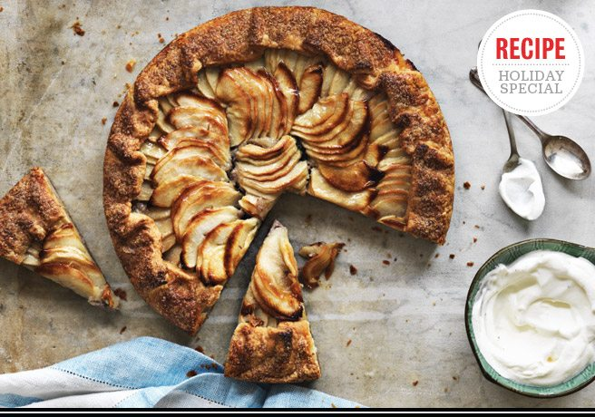 Holiday Feast Recipe: Apple-prune galette from Stock's David Chow