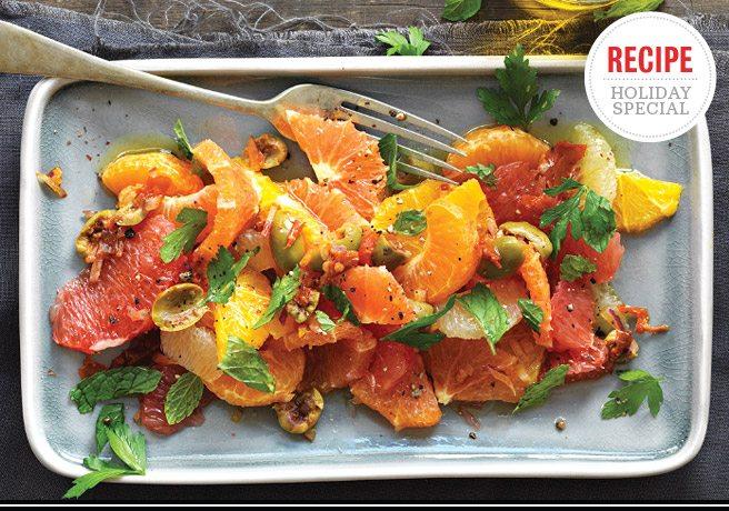Holiday Feast Recipe: Citrus salad from Porzia's Basilio Pesce