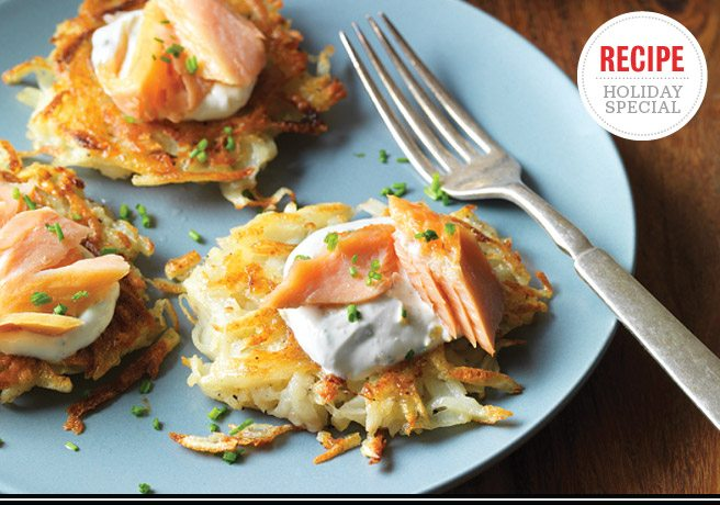 Holiday Feast Recipe: Latkes and smoked trout from The Westerly's Geoff Kitt