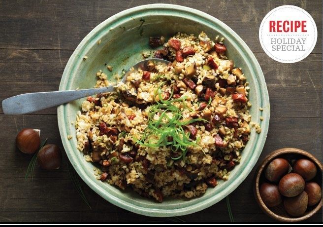 Holiday Feast Recipe: Chinese rice stuffing from Chantecler's Jonathan Poon