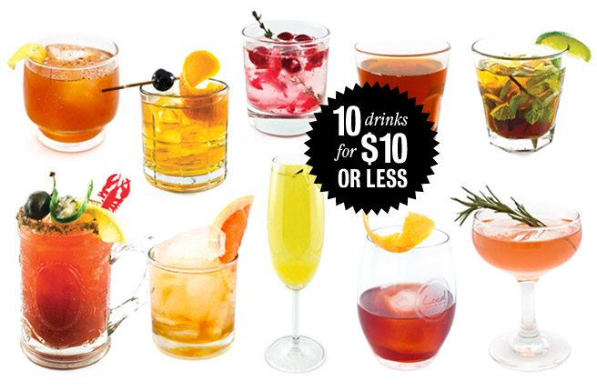 10 deliciously boozy Toronto cocktails for $10 or less