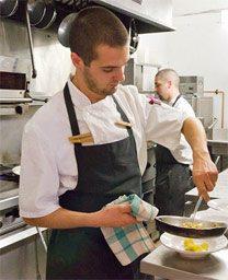 Maurizio Verga is leaving his post as F'Amelia's head chef