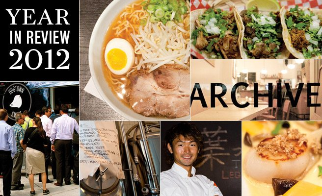 Year in Review: 2012's biggest food trends, from the shadow return of fusion to the reign of ramen
