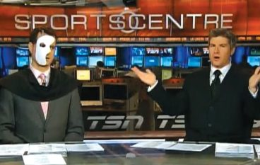Send in the Clowns: TSN Sportscentre Jay Onrait and Dan O'Toole