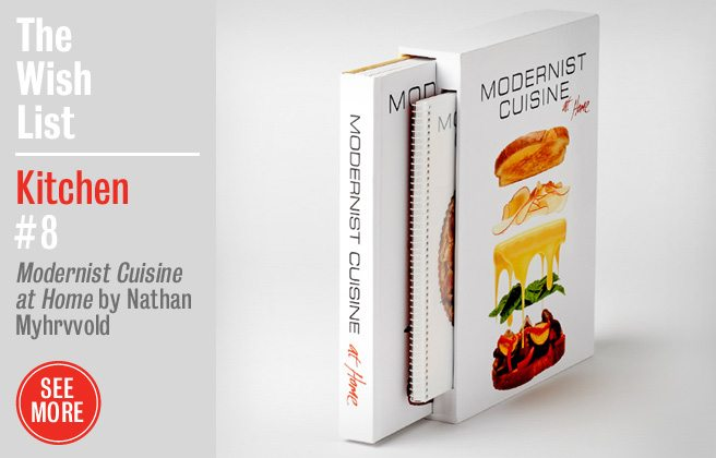 Holiday Gift Guide 2012: Modernist Cuisine at Home, a cookbook for ambitious home chefs