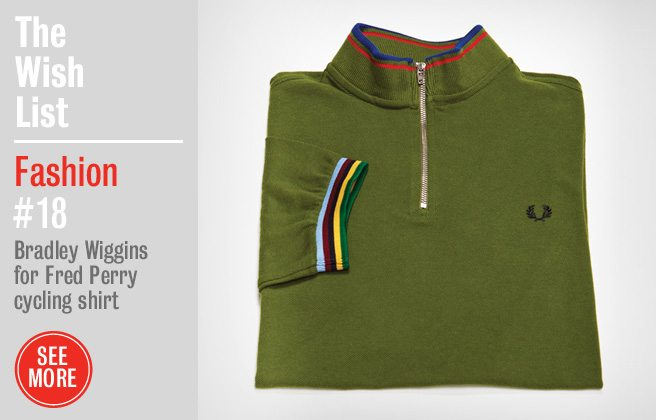 Holiday Gift Guide 2012: a Fred Perry cycling shirt designed by a Tour de France champ